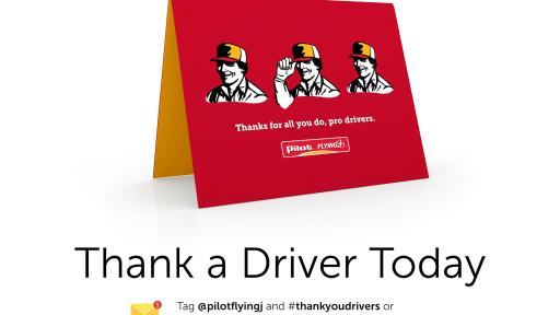 Thank a Driver Today