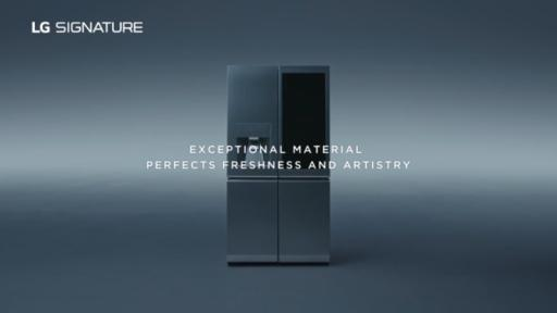 Play Video: LG SIGNATURE Refrigerator boasts quality beyond comparison