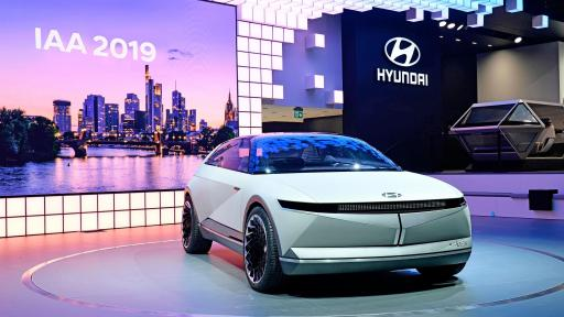 Hyundai Motor showcases new EV Concept 『45』 at 2019 Frankfurt Motor Show