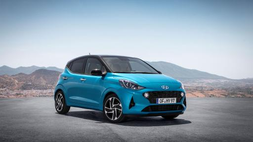 Hyundai Motor unveils the All-New i10, the latest generation of Hyundai's A-segment car at 2019 Frankfurt Motor Show