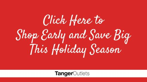 Shop Early and Save Big This Holiday Season