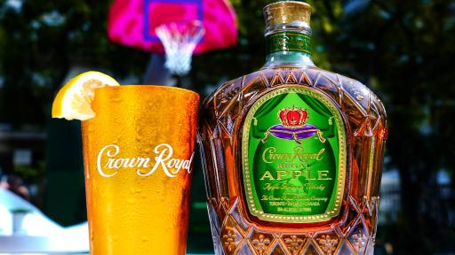 Crown Royal Regal Apple unveils The Royal Court at Miami Art Week 2019 (Photo by Jack Dempsey for Crown Royal)