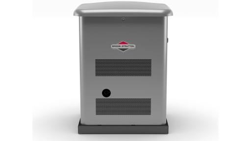View of 12KW residential generator