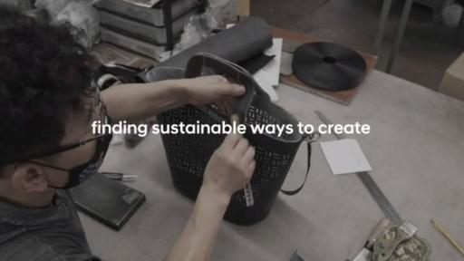 Play Video:  Hyundai Restyle 2020, Upcycling fashion collection from discarded car materials