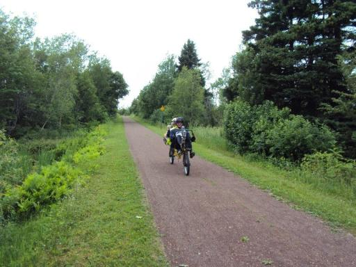 Craig and Lloyd - Confederation Trail PEI