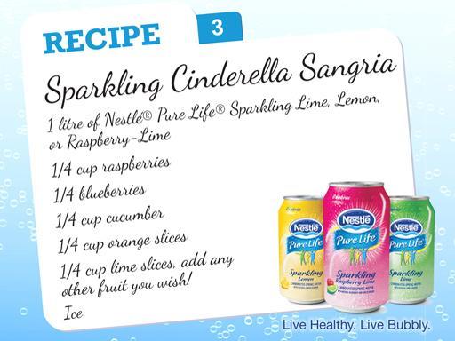 Sparkling Cinderella Sangria