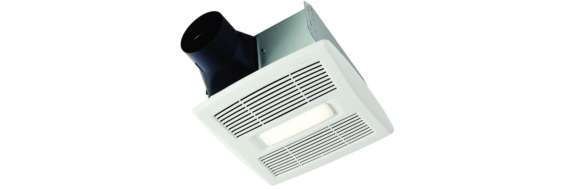 Un ventilateur de salle de bains pas comme les autres for Ventilateur de salle de bain nutone