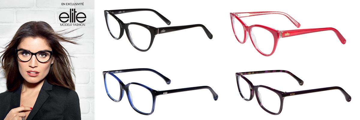 Montures lunettes elite