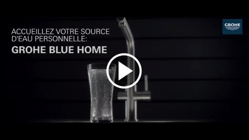 grohe blue home go t et plaisir avec une source d eau pure port e de main. Black Bedroom Furniture Sets. Home Design Ideas