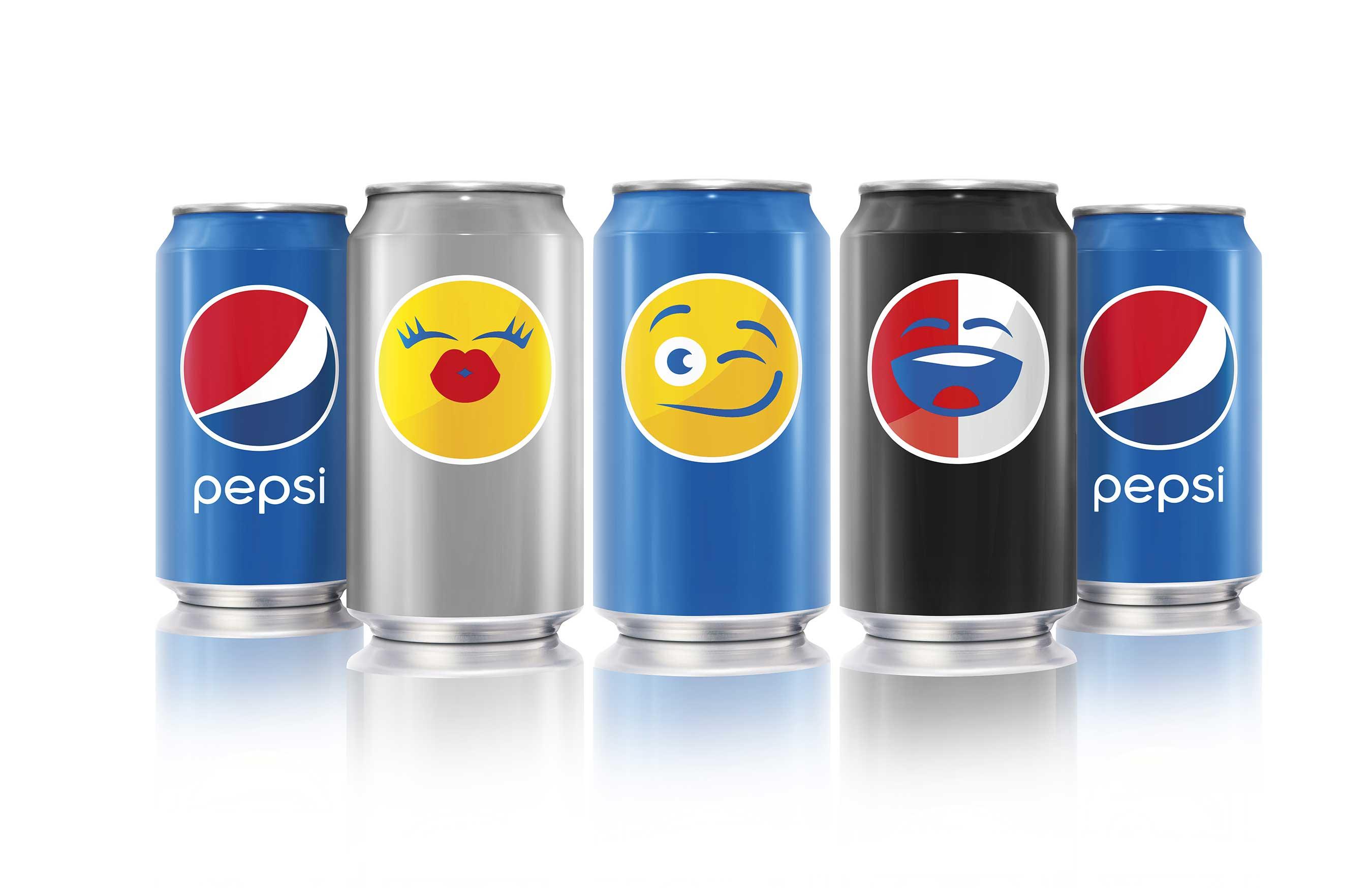 PepsiMoji em toda a marca – Pepsi Diet Light, Pepsi, Pepsi MAX 207cc3975e