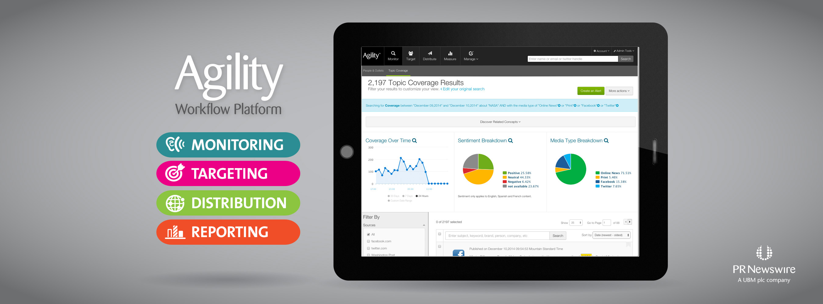 PR Newswire Strengthens Agility Platform With Monitoring And Targeting Enhancements
