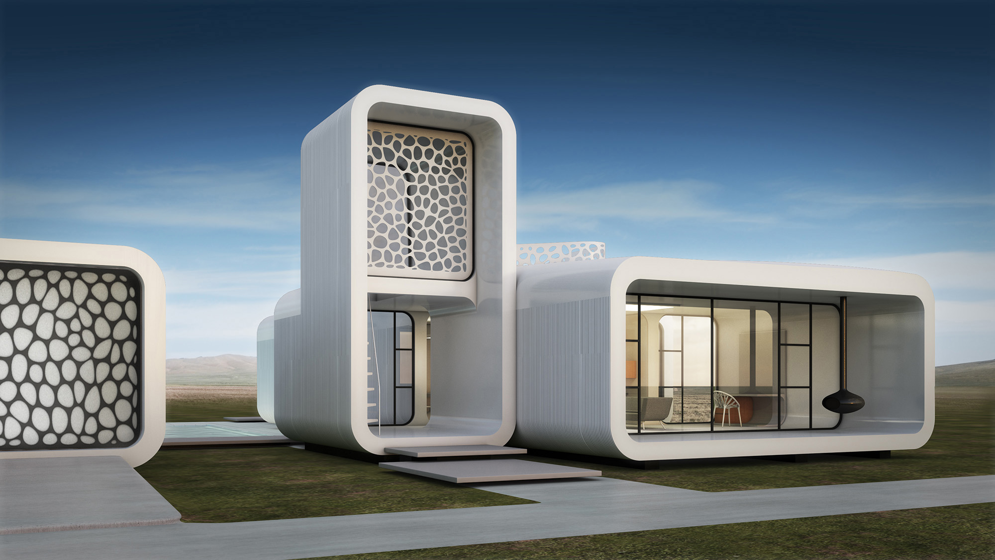 D Printer Exhibition Uk : Dubai to build world s first d printed office