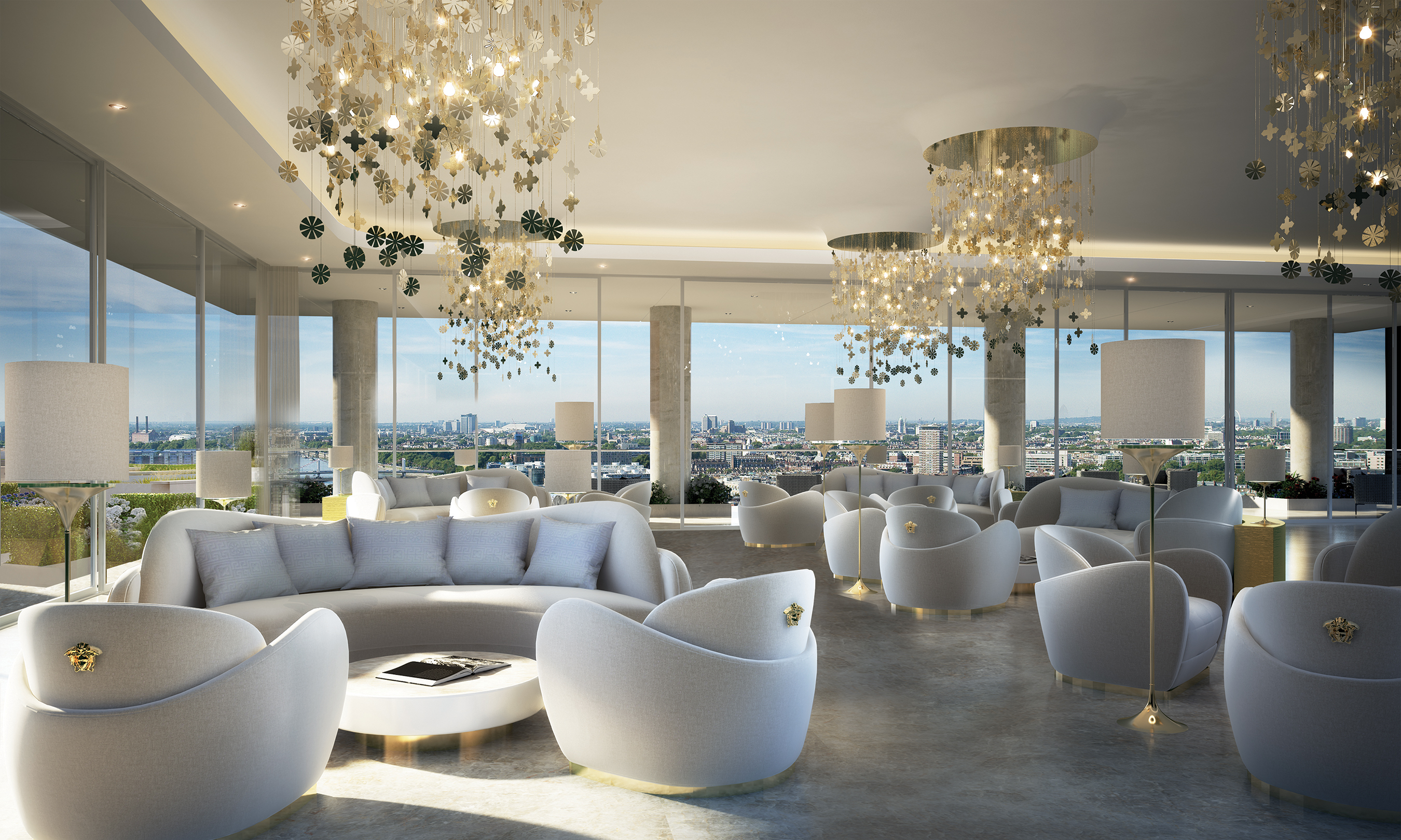 AYKON Nine Elms London's First Fashion Branded Residences with Versace Home