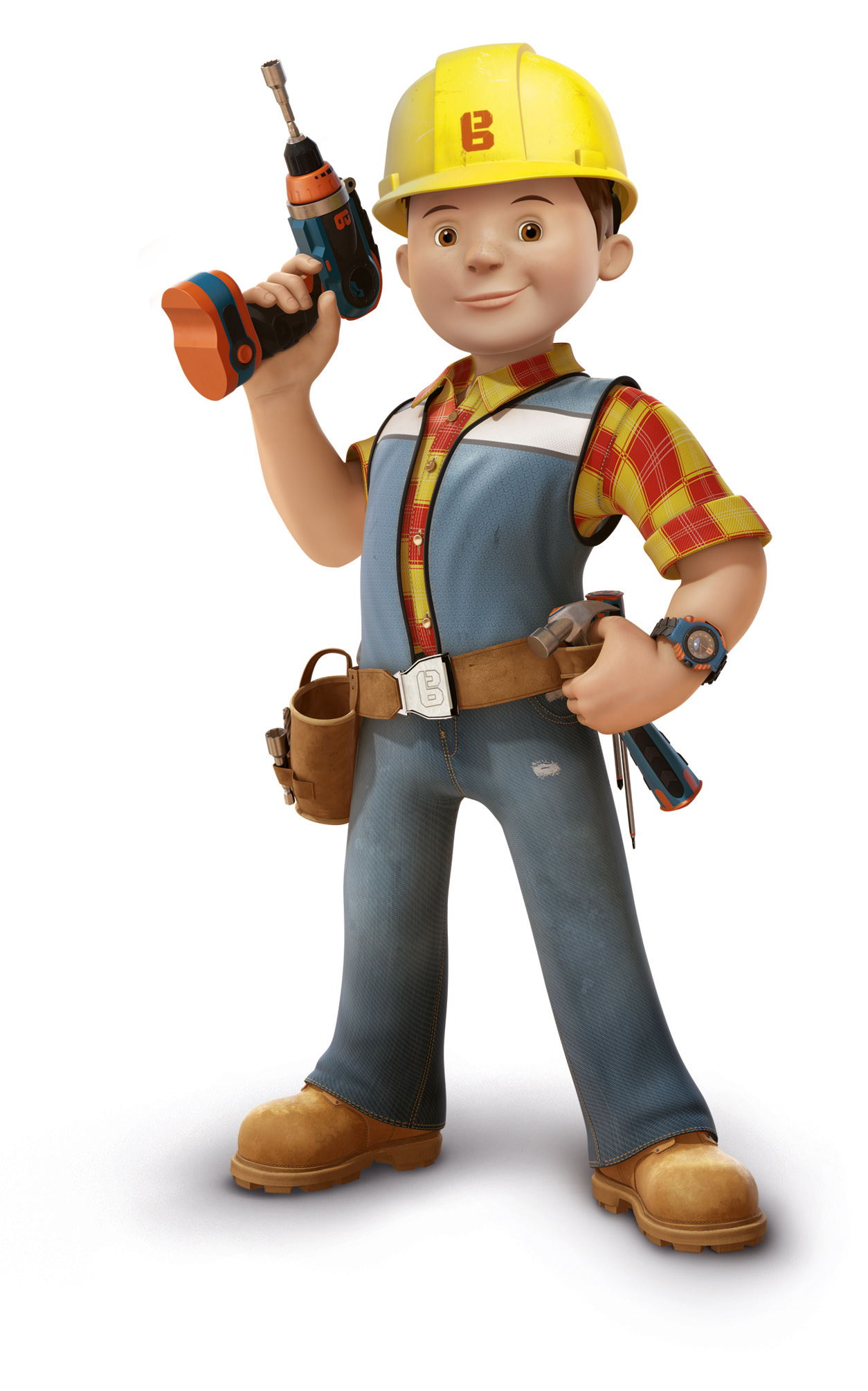 The Characters Of The Cups: BOB THE BUILDER™ IS BACK WITH BRAND NEW CONTENT BRINGING