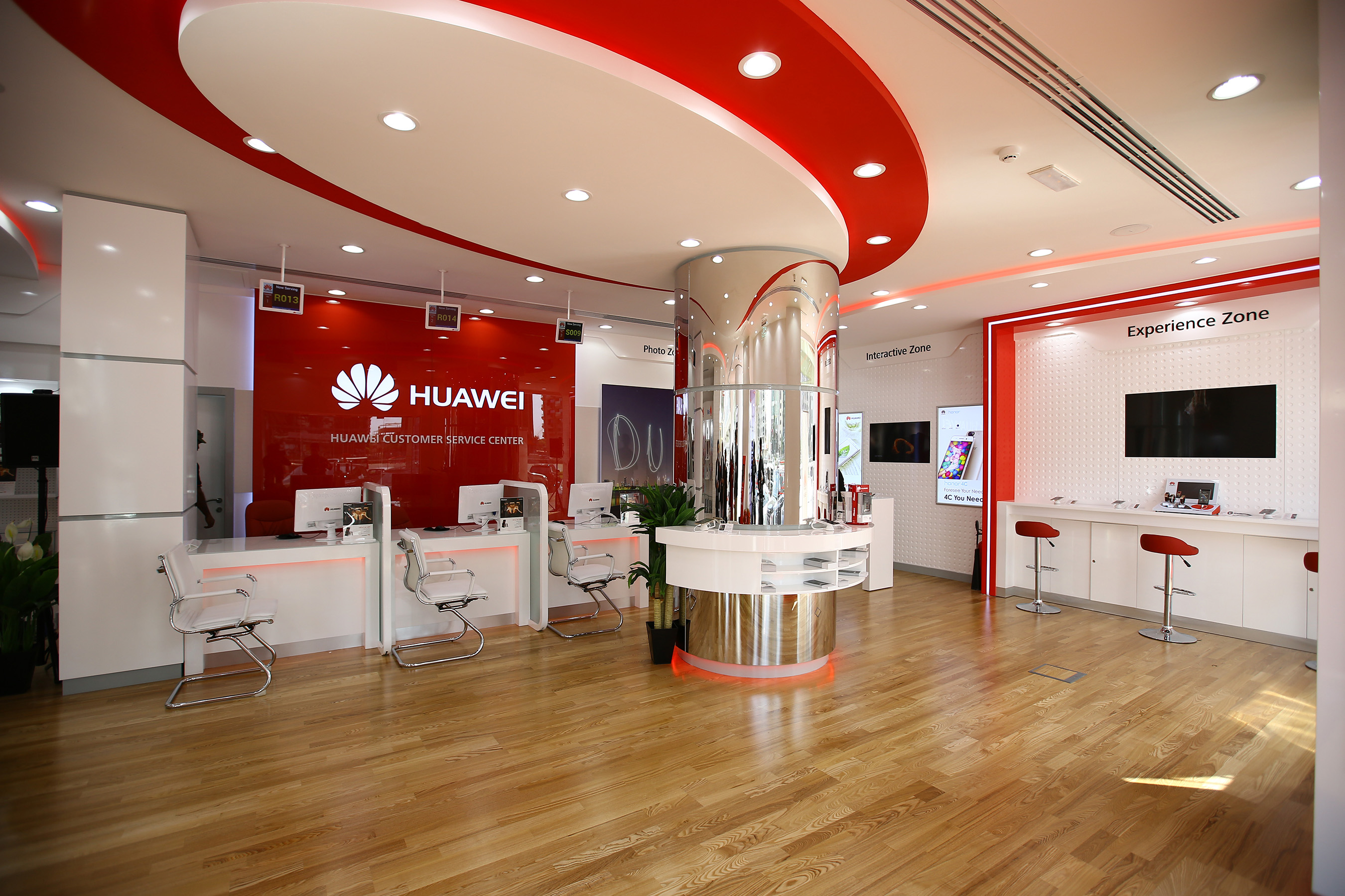 huawei inaugurates region s first flagship customer service center. Black Bedroom Furniture Sets. Home Design Ideas