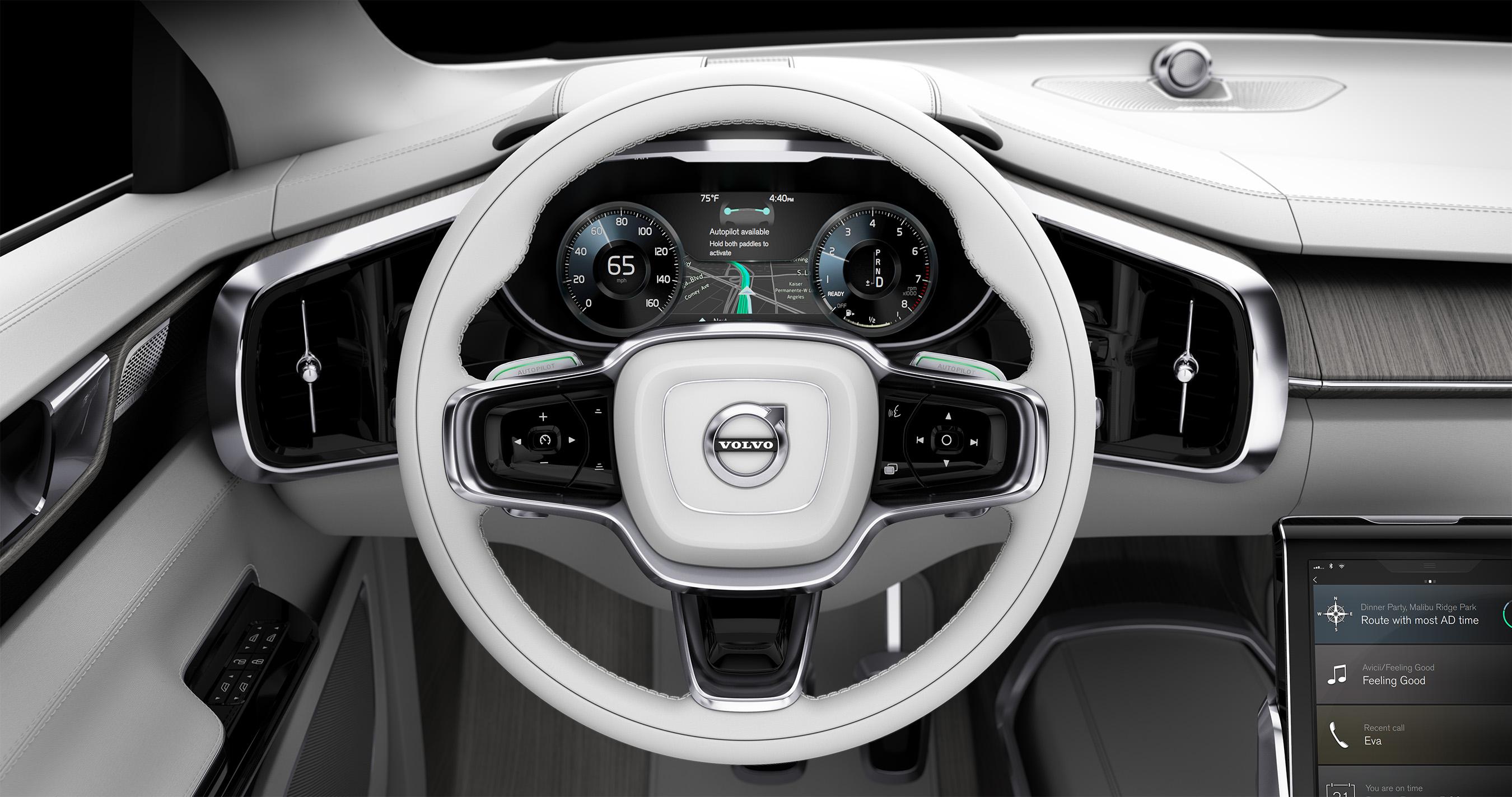 New Self Driving Car Volvo