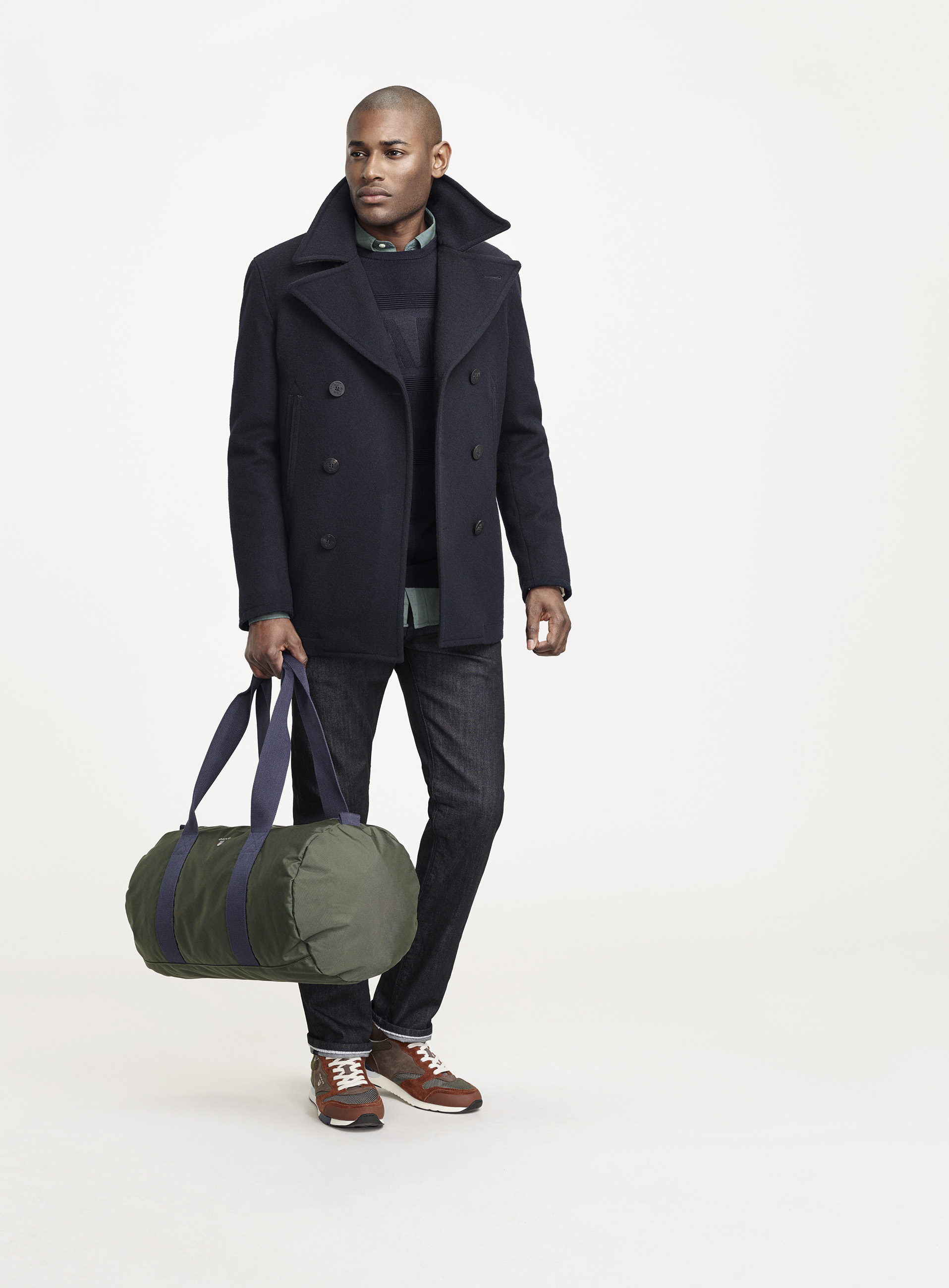 fedbcffb845 GANT Fall/Winter 2016. The Harbour Parka. The Reversible Pea Coat
