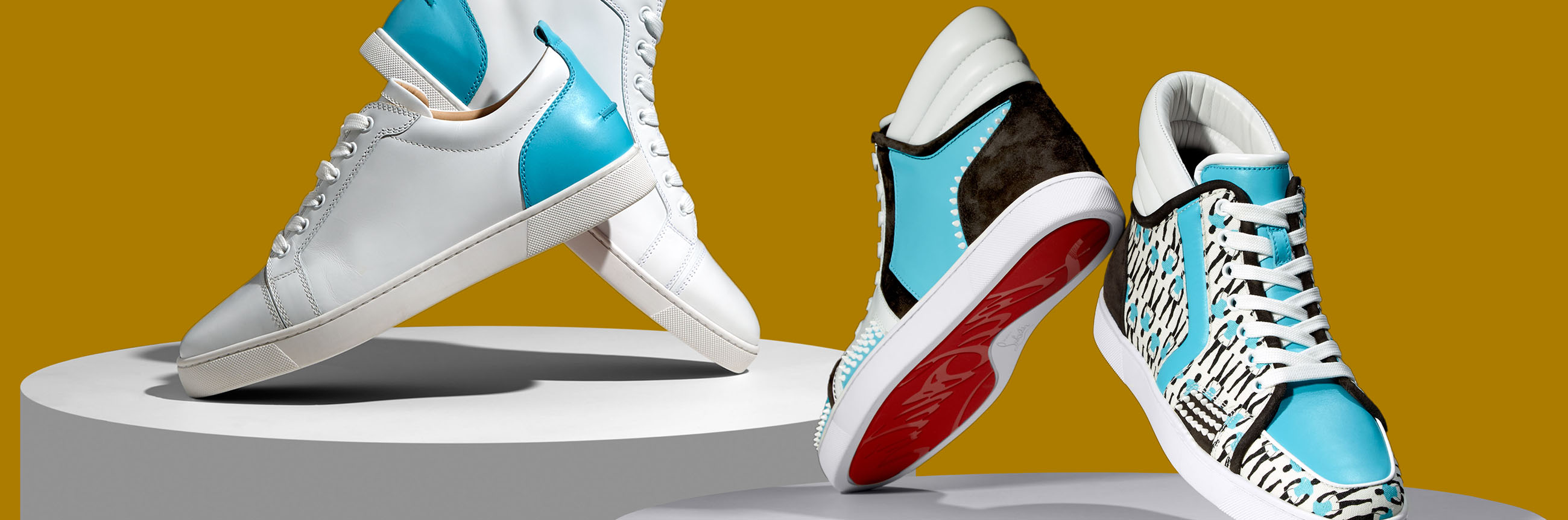 902978133a7d Christian Louboutin Announces Limited Edition Capsule Collection With  Sportyhenri.Com