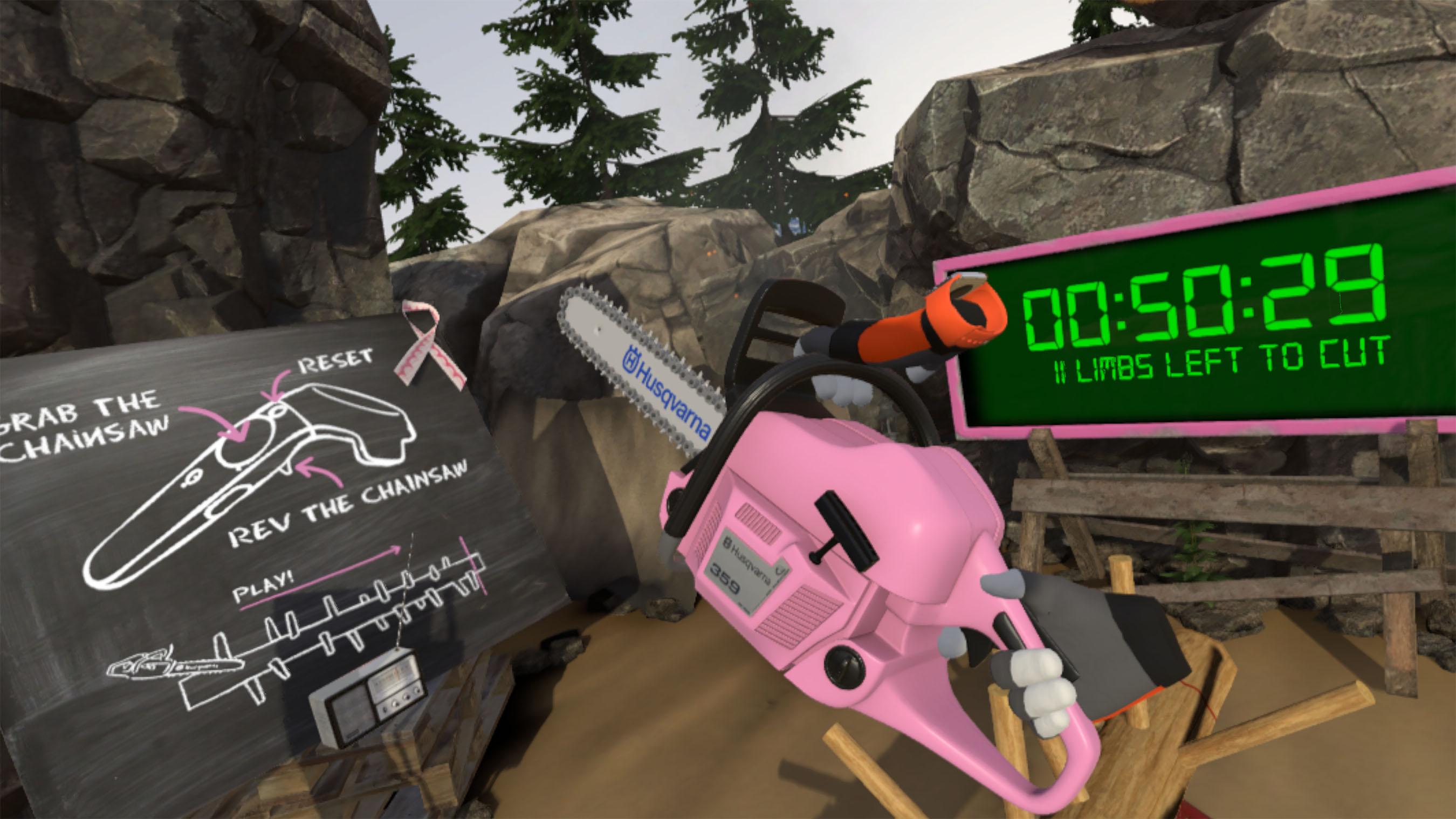 Husqvarna Limberjack Pink October Hr