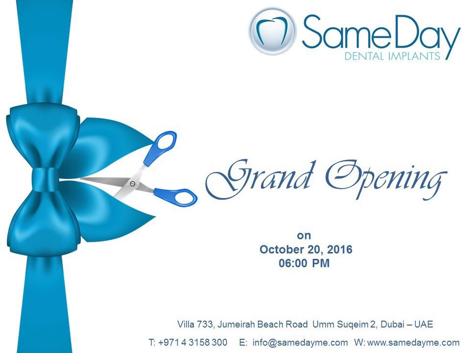 Dental Clinic Opening Invitation - Free Custom Invitation Template Design | Verrado Drift