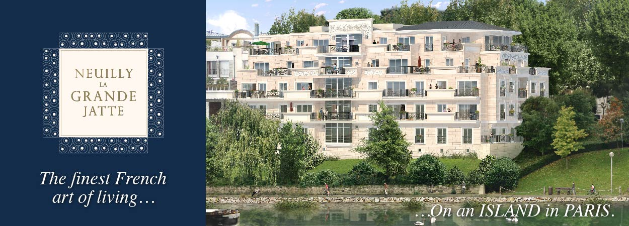 SEGER : Live in Luxury on an Island in Paris
