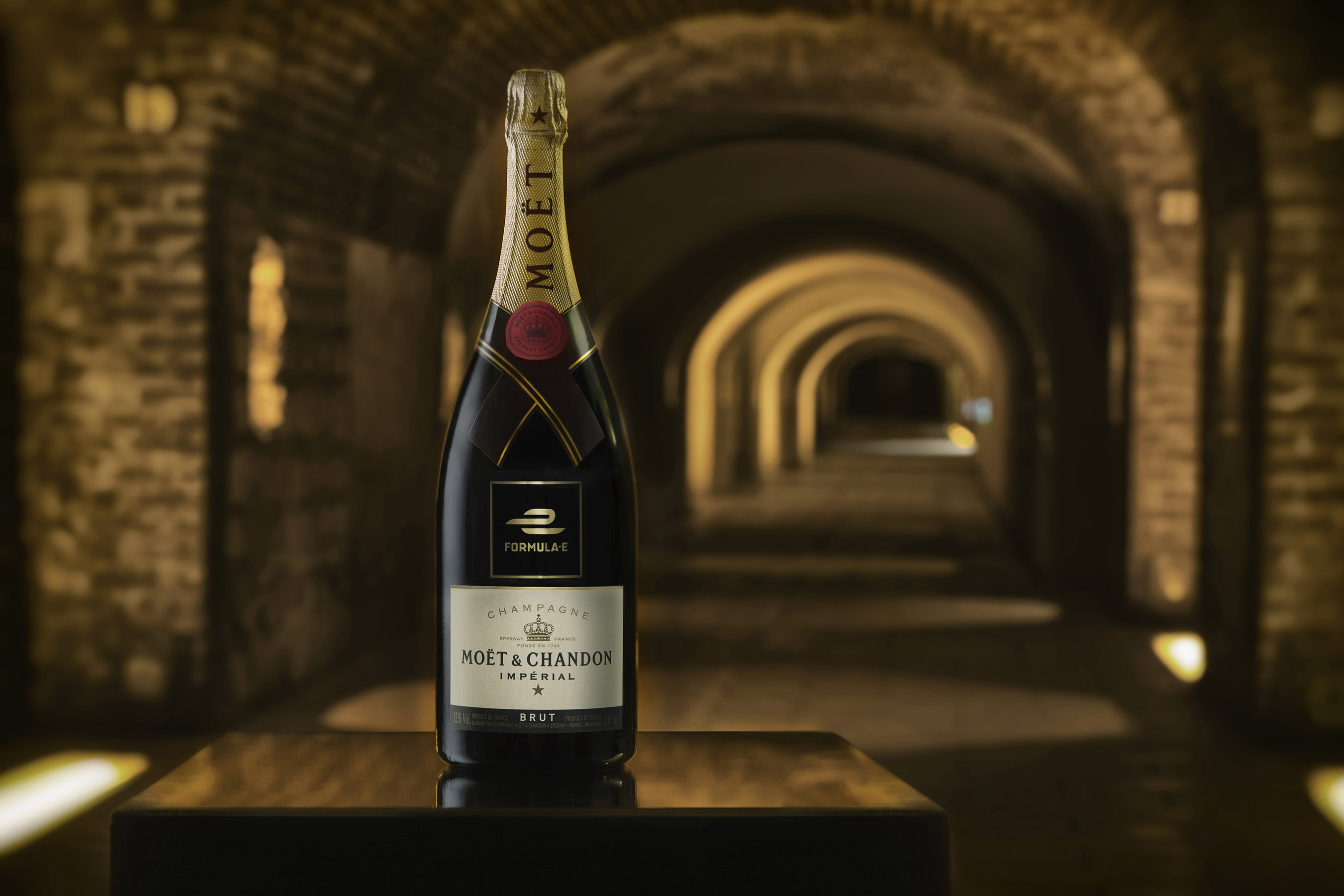 Moët & Chandon's electric new partnership with Formula E