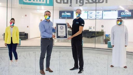 "CLYMB™ Abu Dhabi Awarded ""World's Largest Indoor Skydiving Wind Tunnel"" GUINNESS WORLD RECORDS™ title"