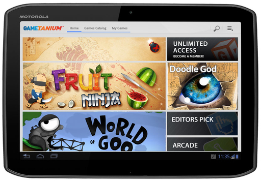 GameTanium, a new mobile game subscription giving Android customers unlimited access to more than 100 games at a great value.