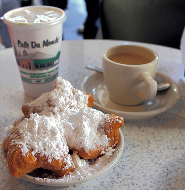 Beignets in New Orleans, the top U.S. destination for flavorful fare, according to TripAdvisor's Travelers' Choice Food and Wine Destinations awards. (A TripAdvisor traveler photo)
