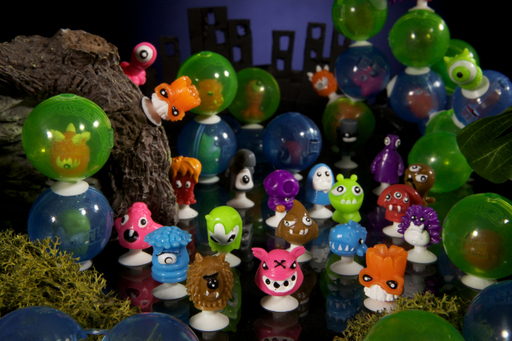 The 24 squishy, squeezy, sticky, collectible ICKEE Stikeez® Series 1 characters from Zing® Toys can be found popping up in all sorts of places.