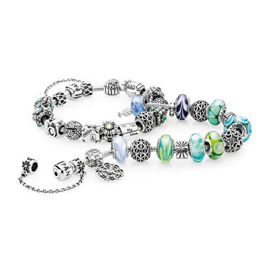 New arrivals include sterling silver charms and colorful Murano glass beads, in keeping with PANDORA's promise of offering affordable luxury at a wide range of price points.