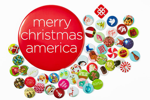 jcpenney is distributing over 80 million buttons this holiday season, giving customers a chance to win millions of exciting gifts including great American vacations, jcp merchandise, gift cards and more.