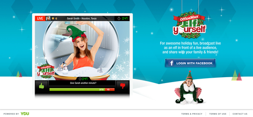 ElfYourself Live channel at YouNow.com