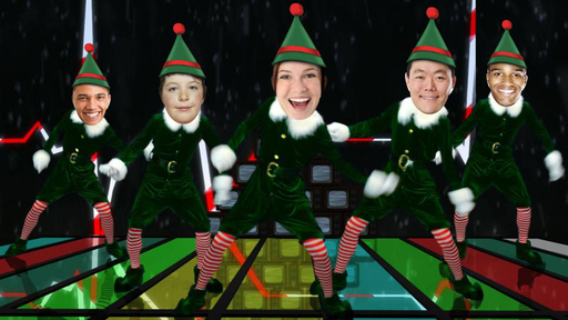 ElfYourself Holiday eGreetings – 80's Dance