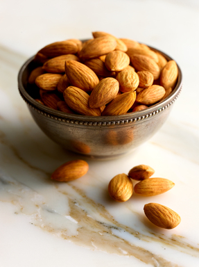 New scientific study shows whole almonds provide 20 percent fewer calories than originally thought.