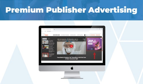 Premium Publisher Advertising One Sheet