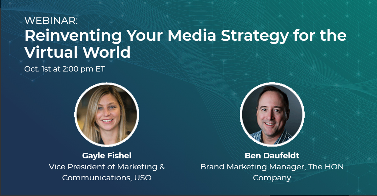 Reinventing your media strategy graphic