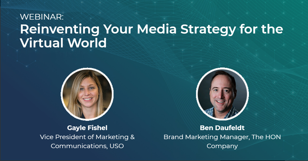 Reinventing your media strategy graphic Graphic