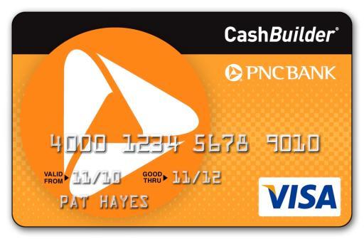 PNC Credit Card (CashBuilder)
