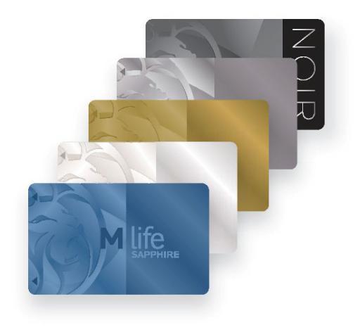 M life Cascading Card – MGM Resorts International