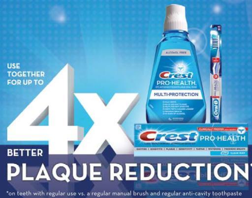 Crest Oral-B Pro Health System
