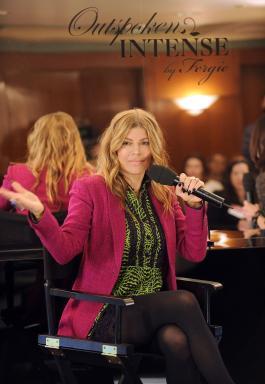 Fergie speaks at Avon World Tour in NYC