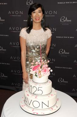 Andrea Jung at World Tour in NYC