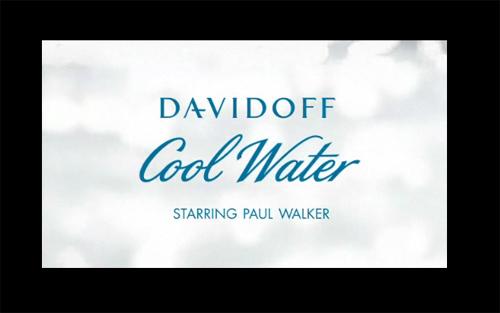 Paul Walker and Davidoff Cool Water