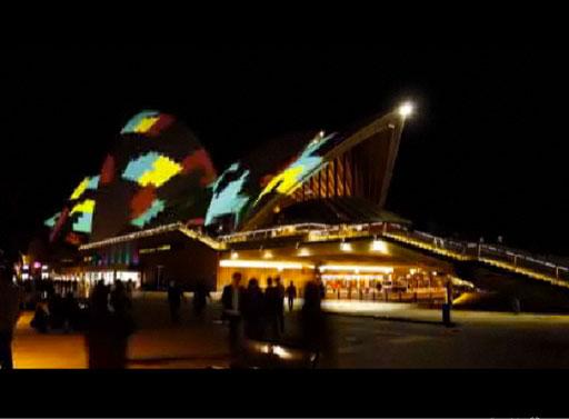 Vivid Sydney 2011 Time Lapse