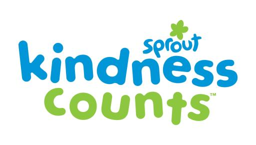 Sprout Kindness Counts Logo - Stacked