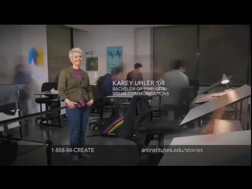 Karey Uhler Art Institutes Graphic Design Grad Spotlight