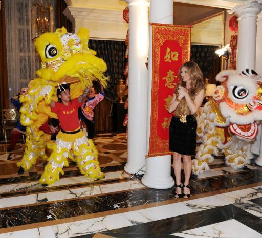 Celine Dion Lunar New Year Caesars Palace