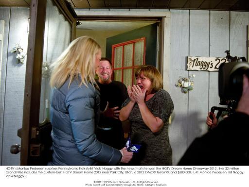 HGTV Dream Home Giveaway 2012 Winner Surprised