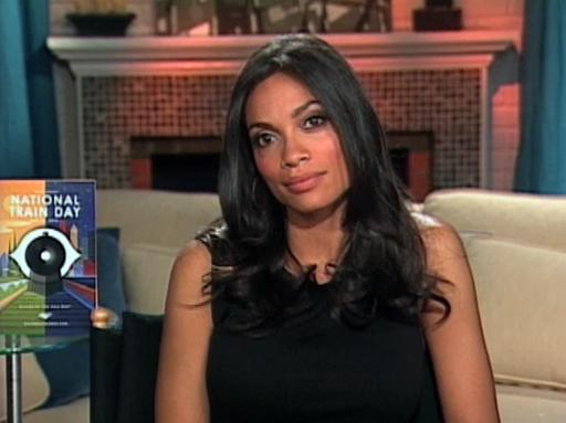 Actress Rosario Dawson Shares Her Love of Train Travel